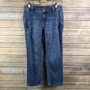 Banana Republic Factory Cropped Jeans (KG278)